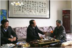 省委高校工委 省教育厅开展慰问老干部活动
